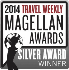 2014 Travel Weekly Magellan Awards Silver Award Winner