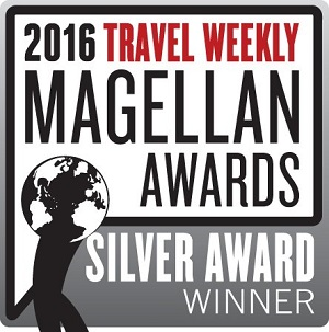 2016 Travel Weekly Magellan Awards Silver Award Winner