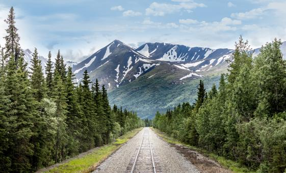 Train and Glacier Hike from Anchorage (Spencer Whistle Stop)