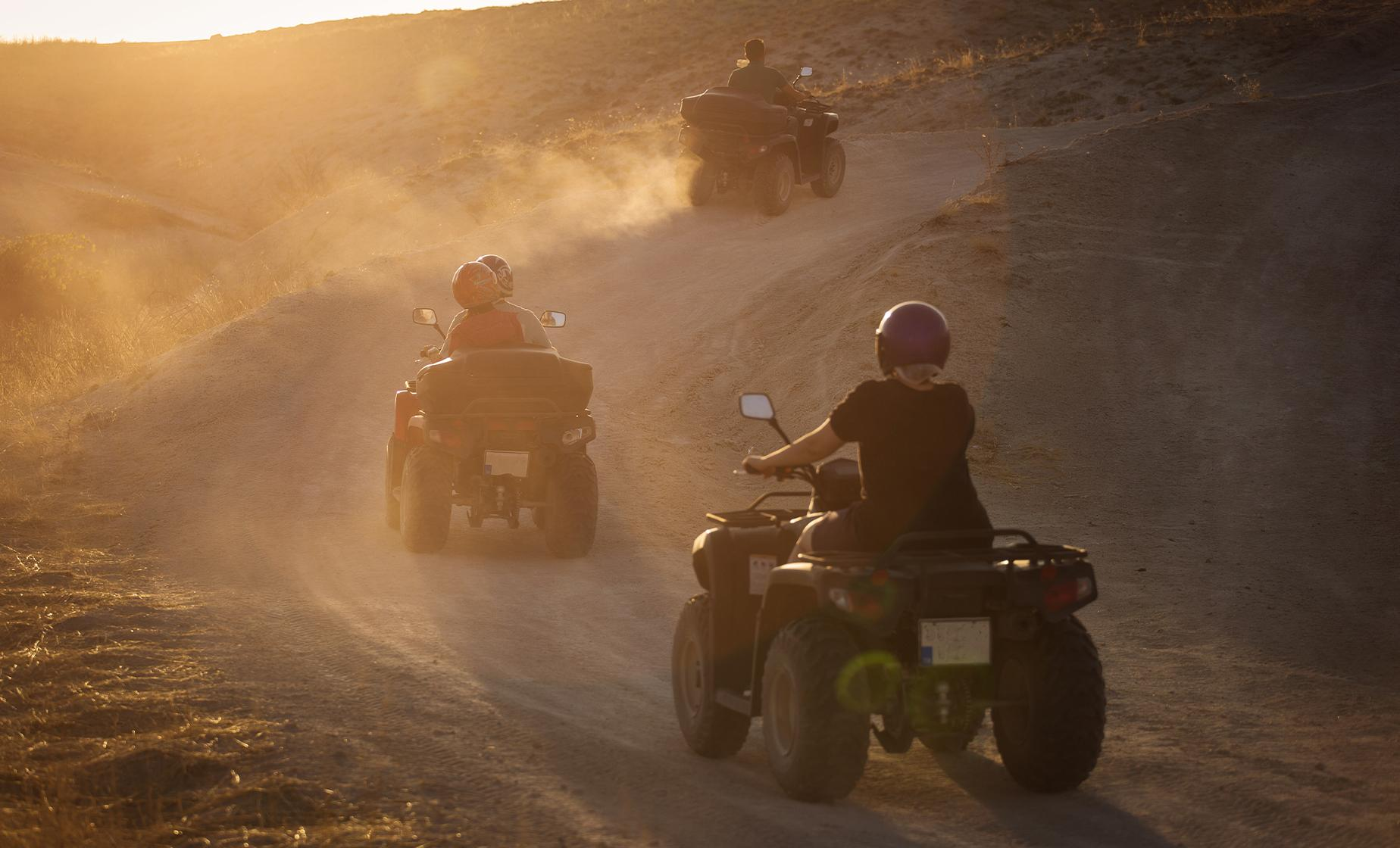 ATV Midnight Sun Adventure in Denali, Alaska
