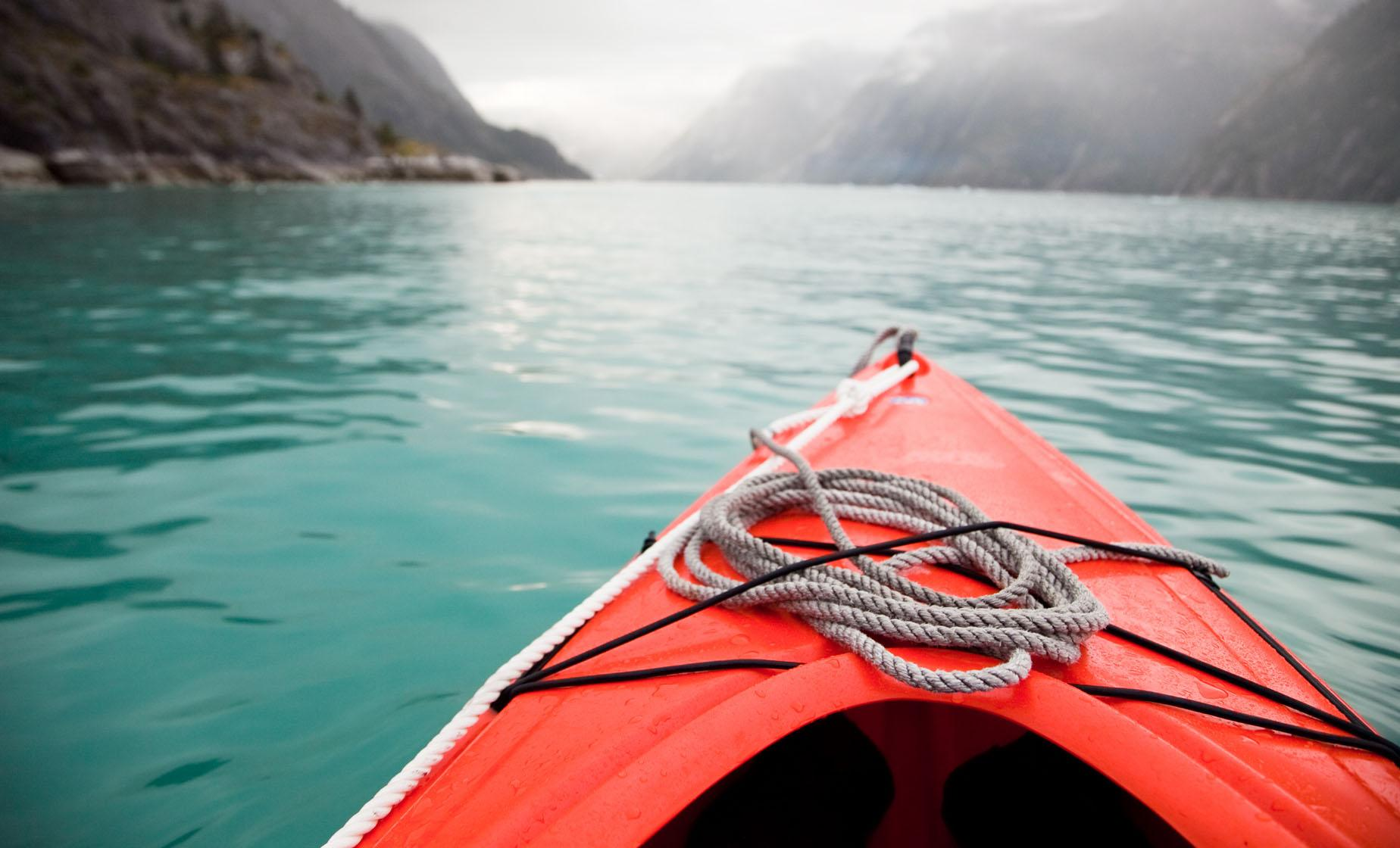 Chilkoot Lake Wildlife Kayak Tour in Haines, Alaska