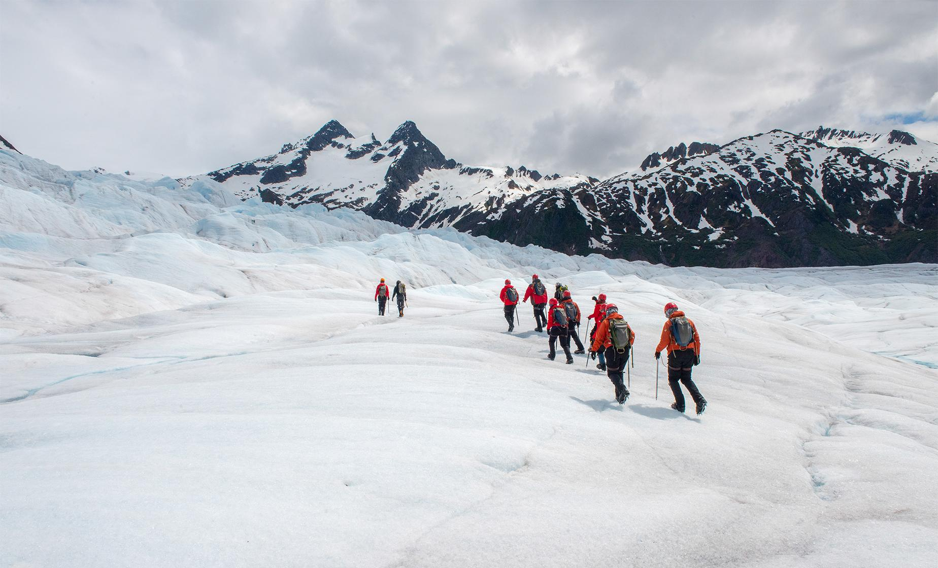 Hiking and Climbing Trek along Mendenhall Glacier Day Trip in Juneau