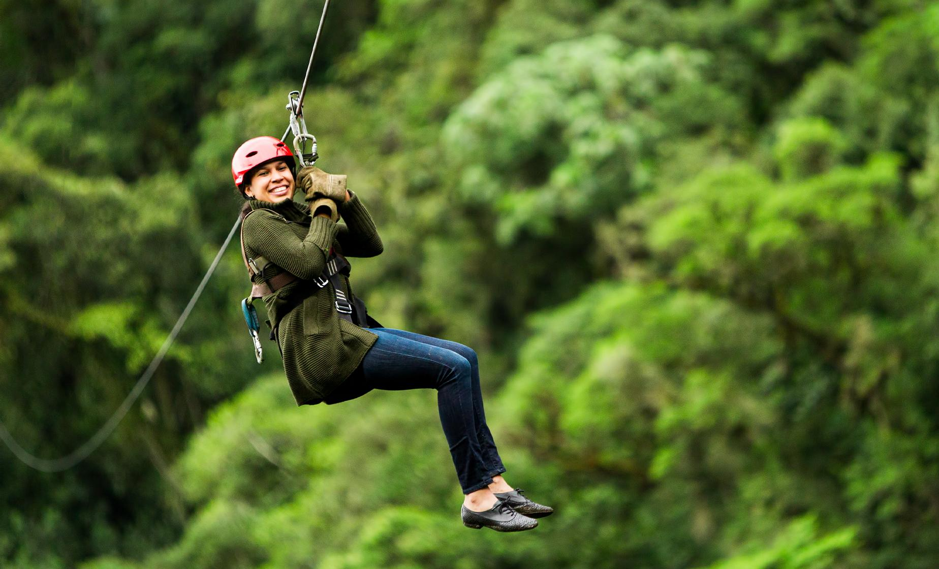 Zipline Across the Alaskan Rainforest on this Juneau Day Tour