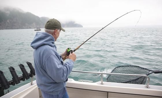 Alaskan Salmon Fishing Charter Day Tour in Juneau, Alaska