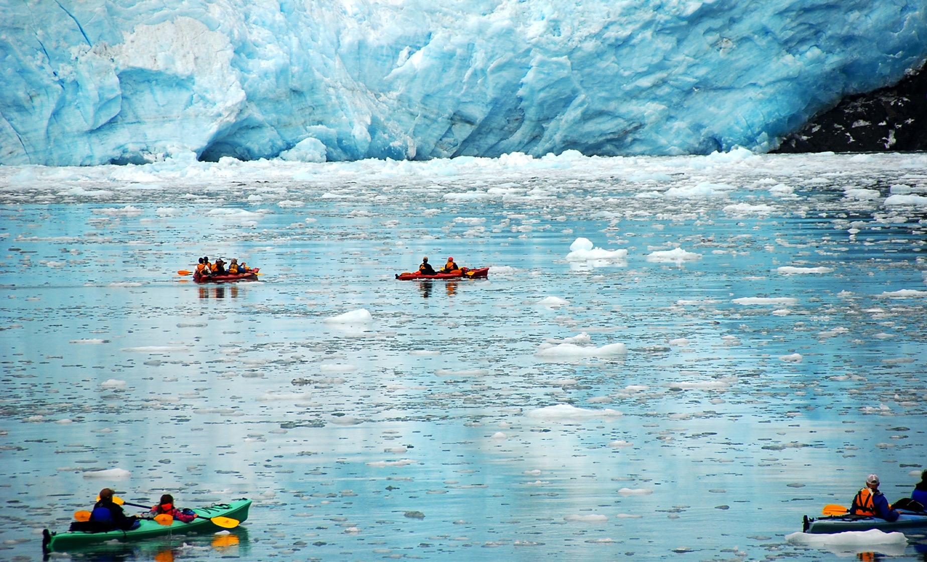 Mendenhall Lake Kayak Adventure