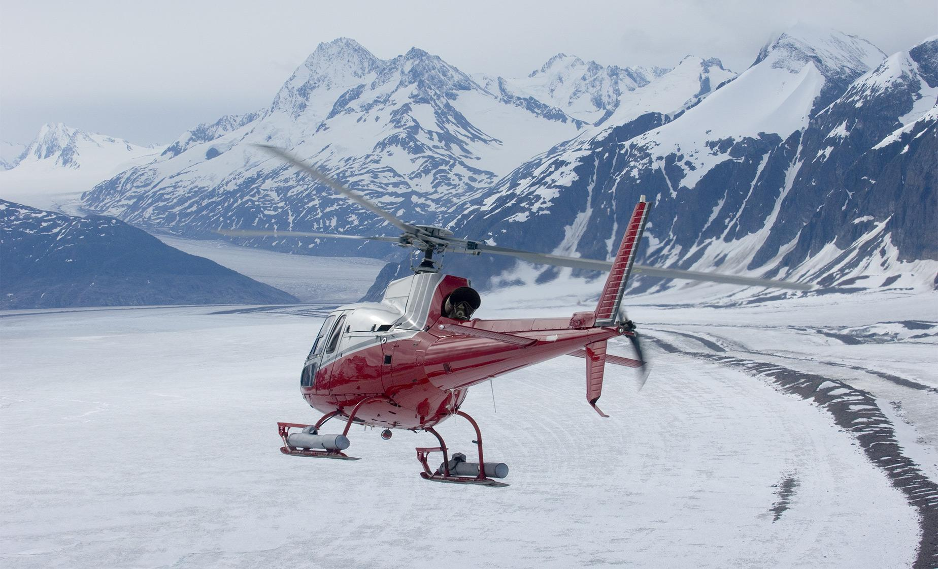 Taku Glacier Adventure by Air, Water, and Ice