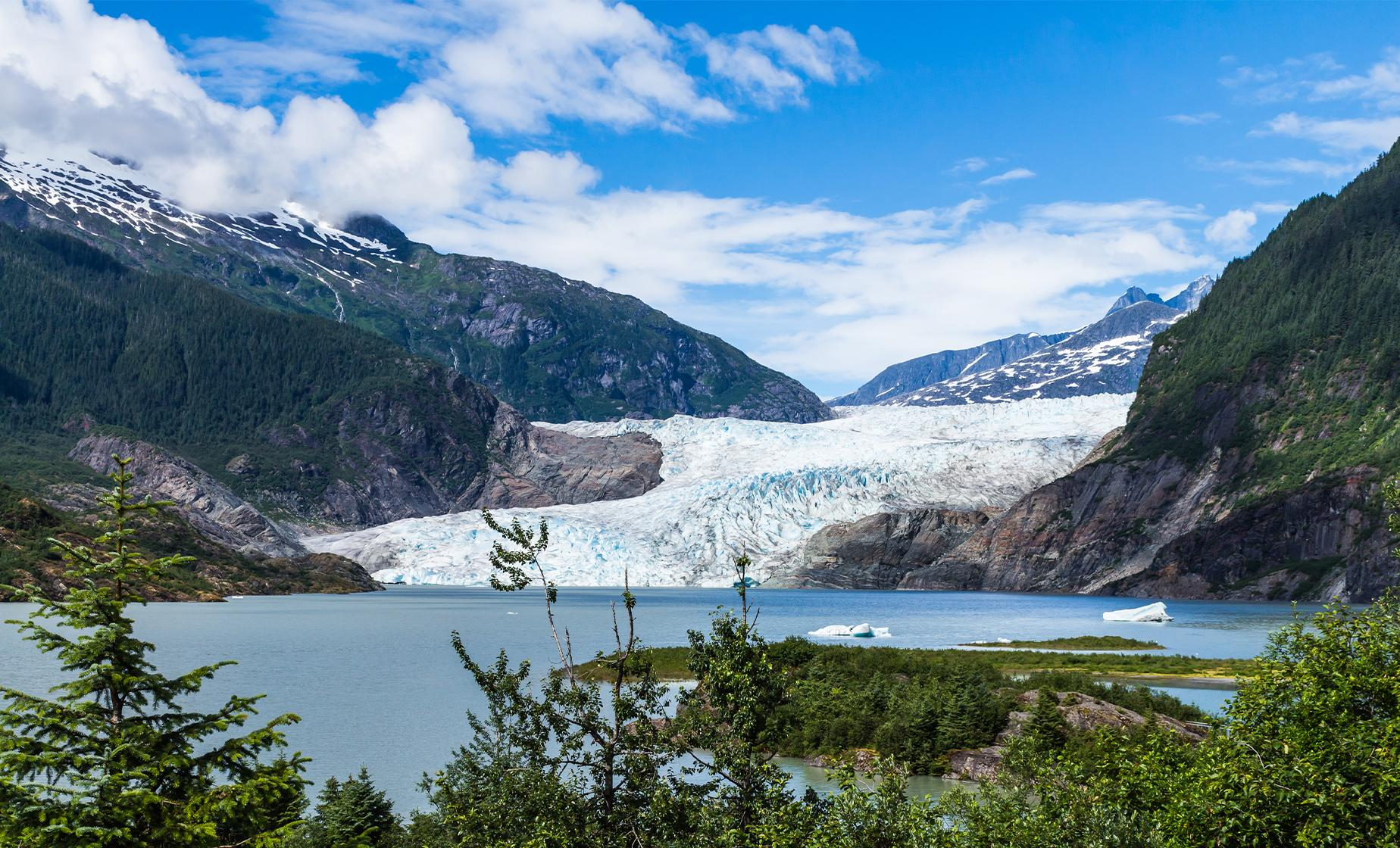 Juneau City and Mendenhall Glacier Tour