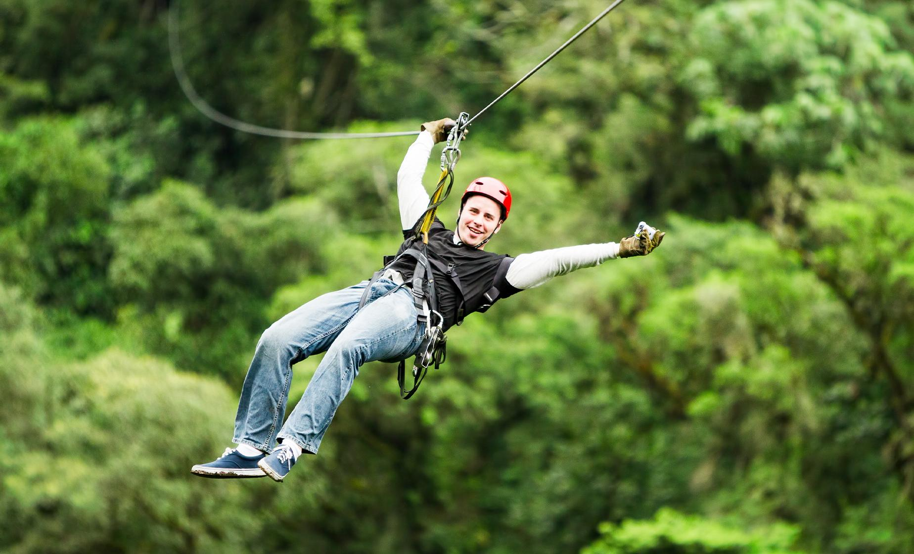 Rainforest Canopy & Zipline Expedition