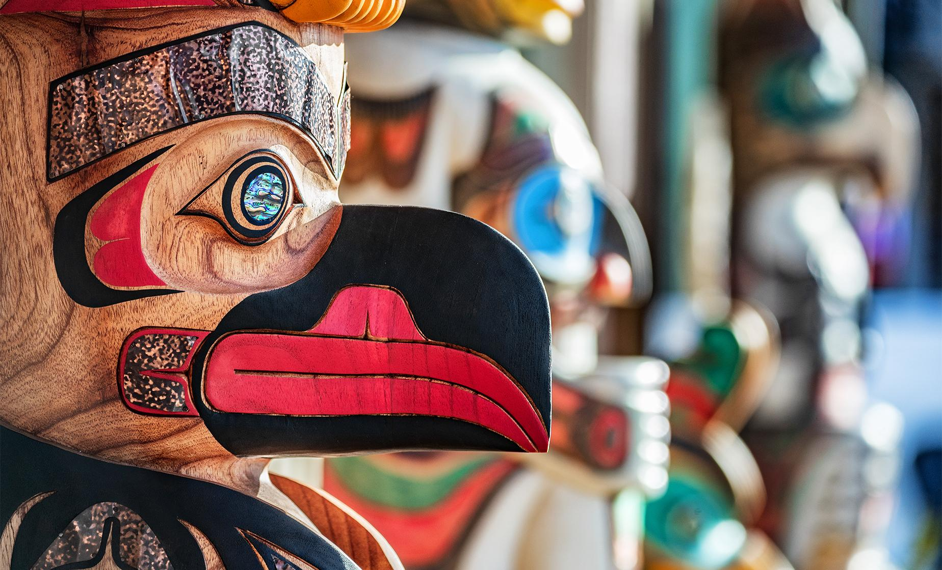 The Totems of Ketchikan