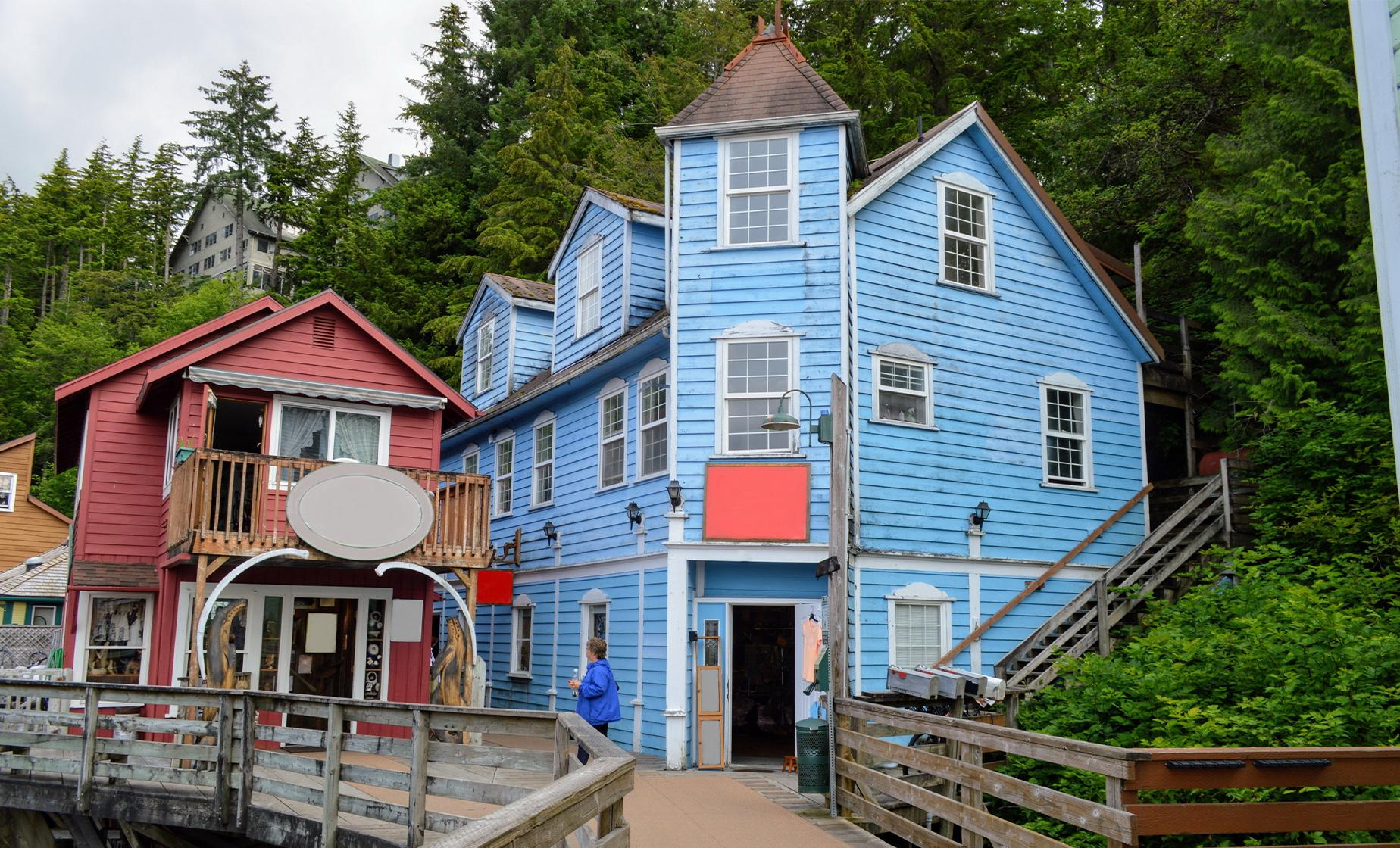 Ketchikan Shop, Sites and Bites