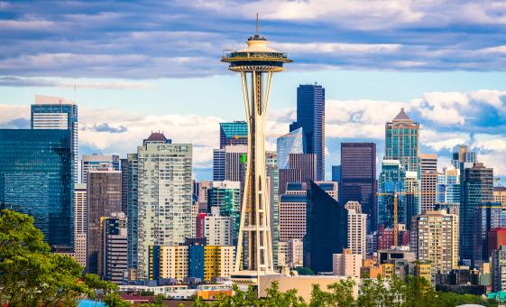 Seattle Highlights City Tour (Gold Rush Museum, Kerry Park Viewpoint)