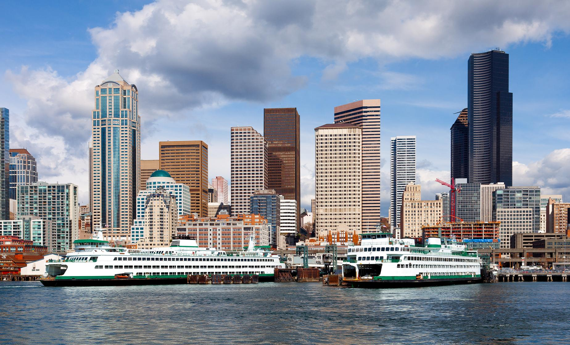 High-Speed Passenger Ferry Service From Seattle to Victoria, British Columbia (High Season)