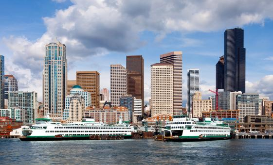 Passenger Ferry Service High-Speed From Seattle to Victoria, BC (Low Season)