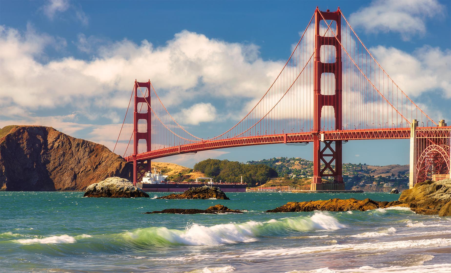 Private Bridge and the Beach