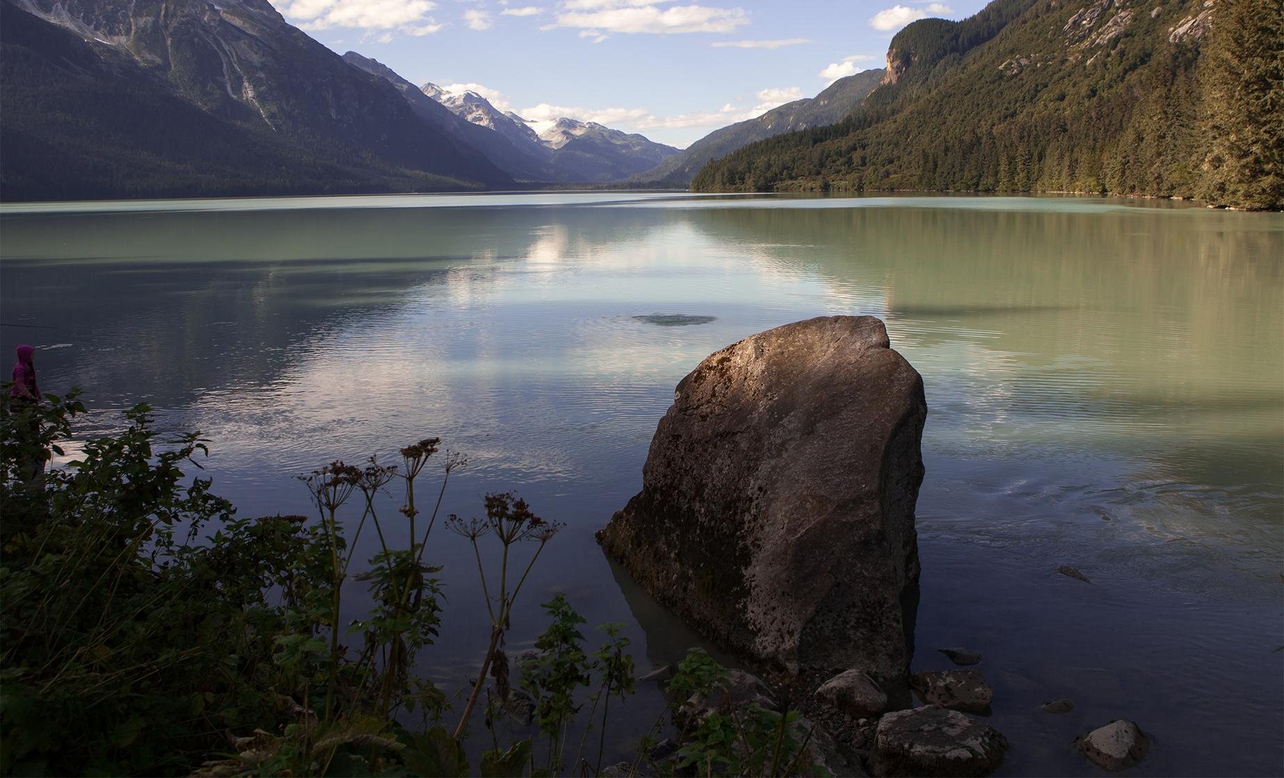 Chilkoot Lake Canoeing