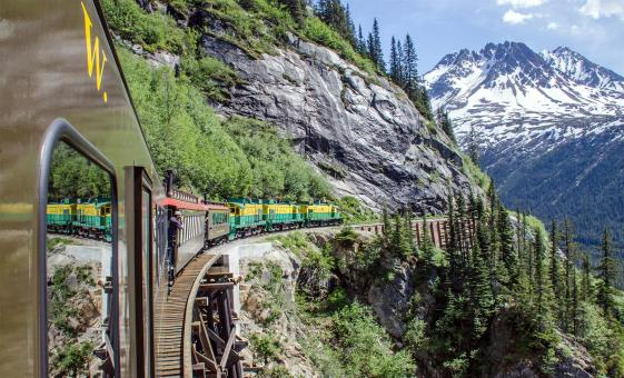 Yukon Rail and Bus Excursion Adventure from Skagway