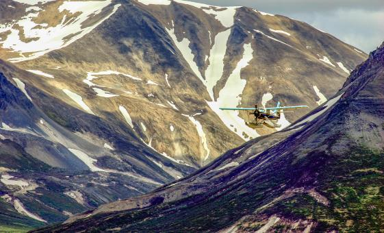 Skagway Flightseeing and Rafting Adventure