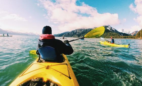 Chilkoot Lake State Park Kayak Day Tour from Skagway