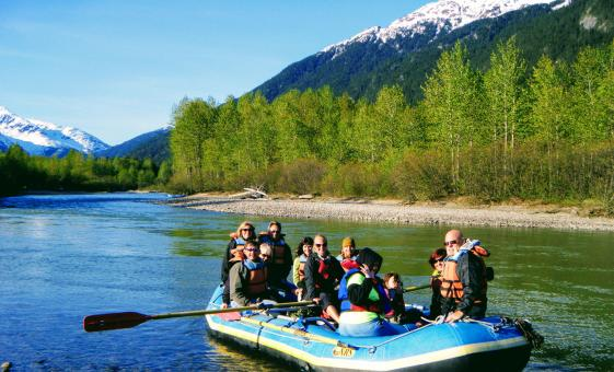 Taiya River Raft Float Day Tour in Skagway, Alaska