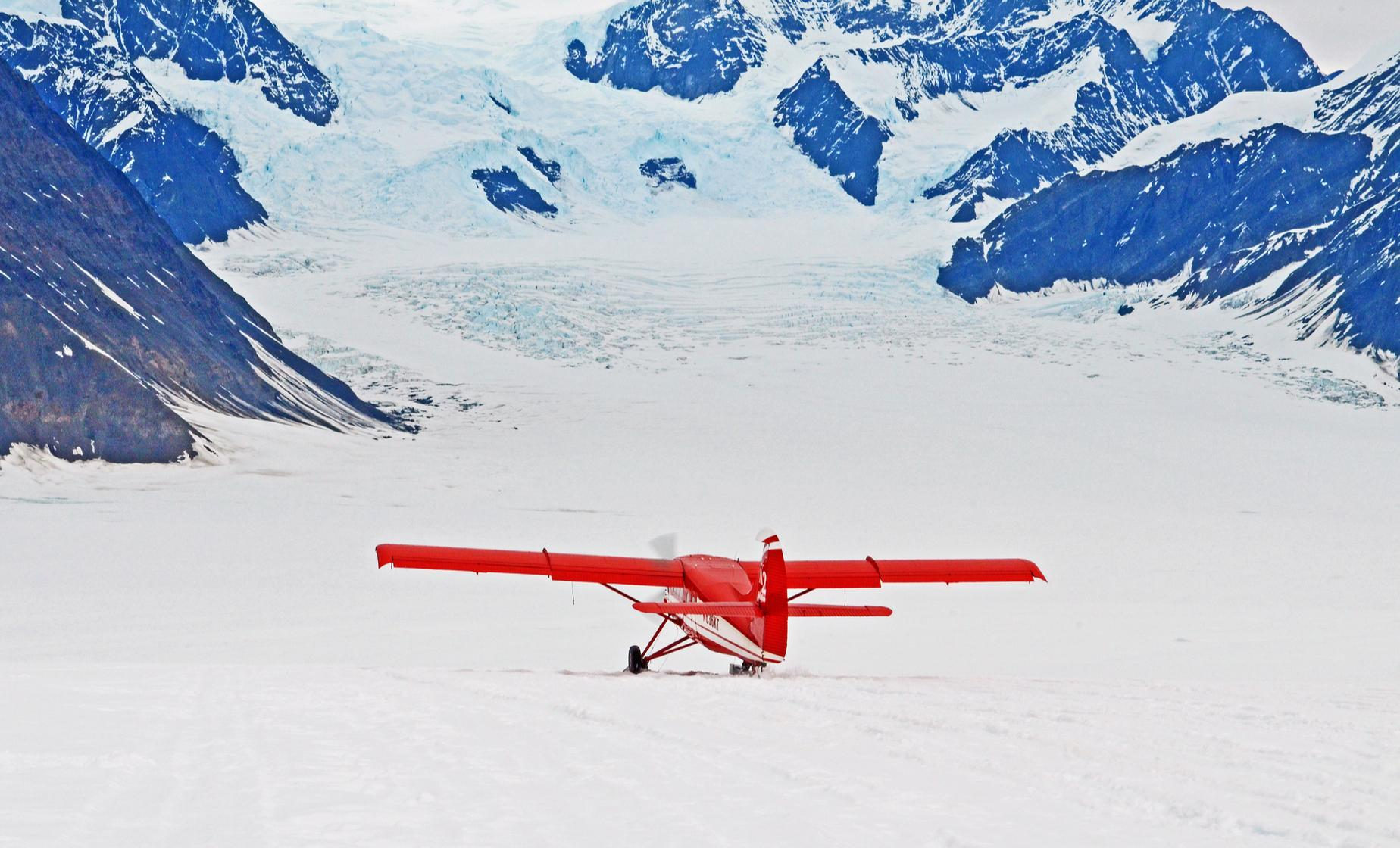Talkeetna Cruise Shore Excursions | McKinley Base Camp Tour with Glacier Landing