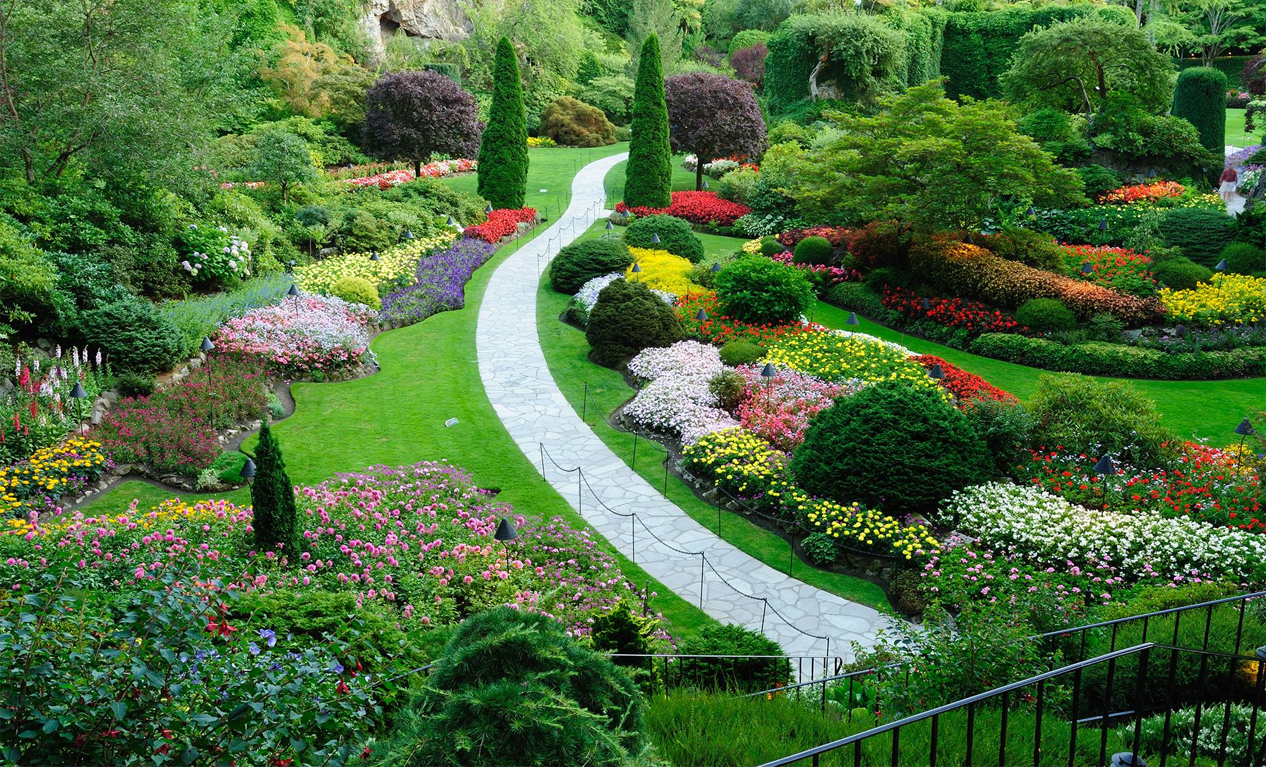 Butchart gardens day tour in victoria bc - Butchart gardens tour from victoria ...