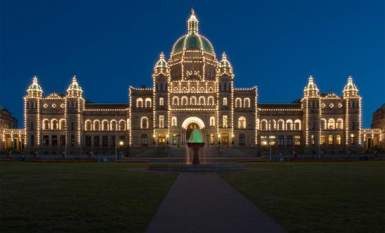 Deluxe Evening Sightseeing Bus Tour in Victoria, BC