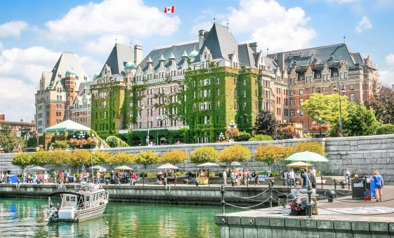 Downtown Food And Victoria City Tour