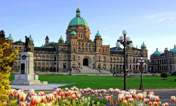 Victoria Sightseeing Hop On and Off Bus Tour (British Columbia Parliament Buildings, Empress Hotel)