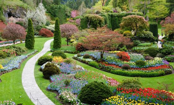 From Victoria To Vancouver via Butchart Gardens