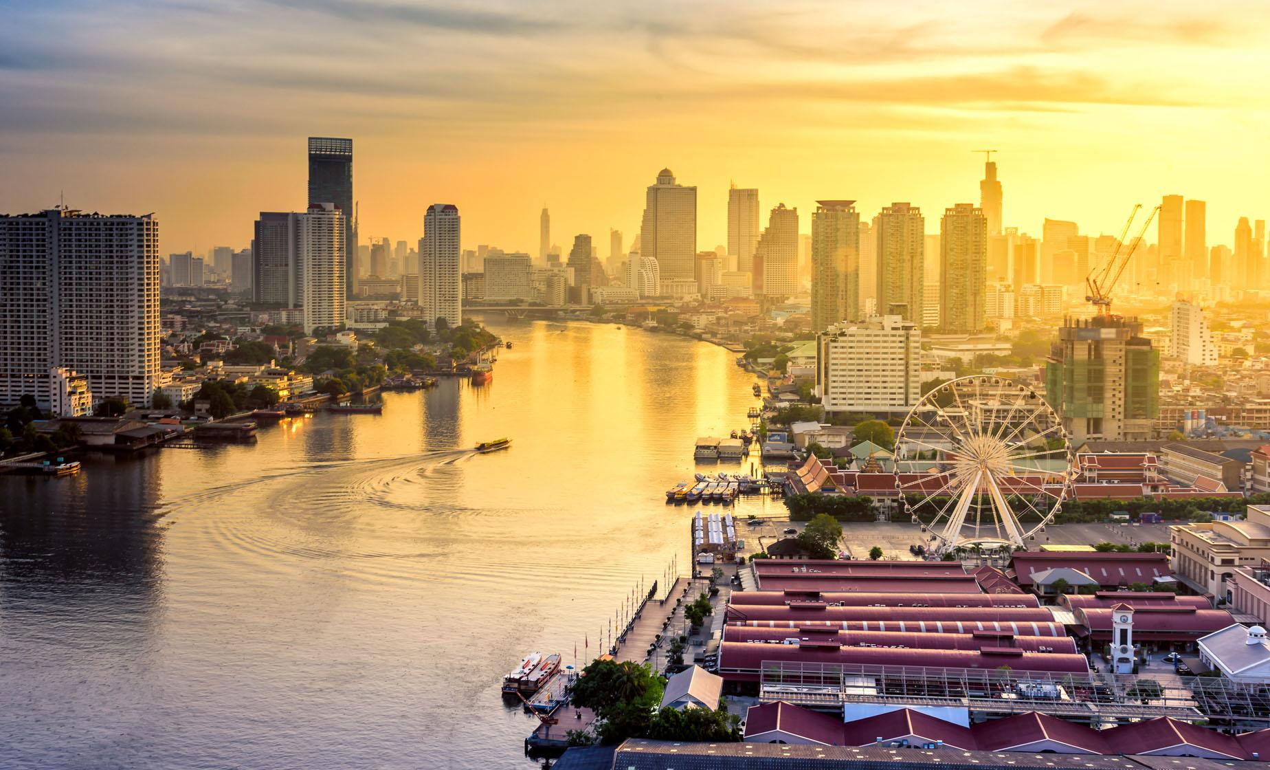 Private Sunset In Bangkok