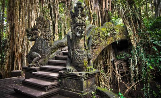 Exploring Ubud Artists and Monkey Forest Tour