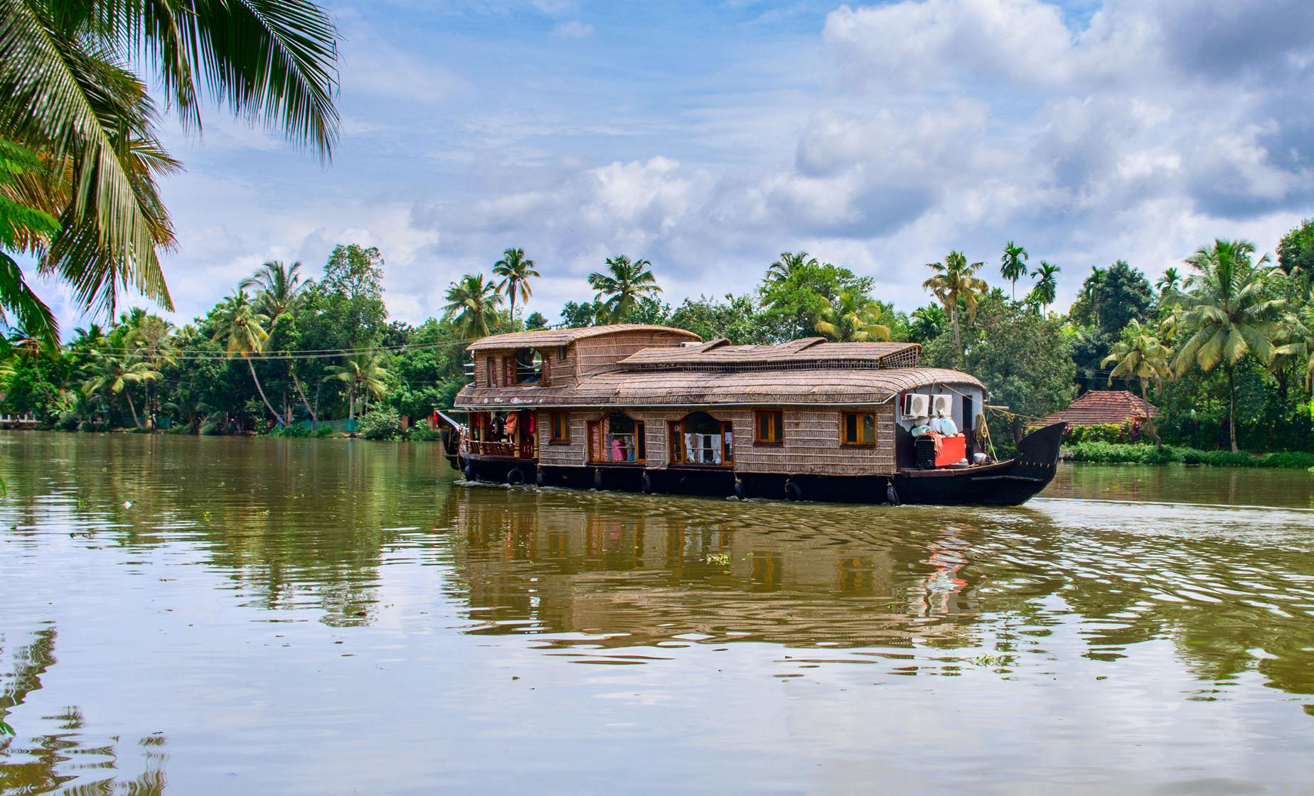 Kerala's Backwaters and Fishing Nets