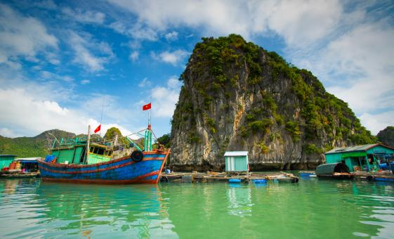 Halong Bay Cruise and Village Combo