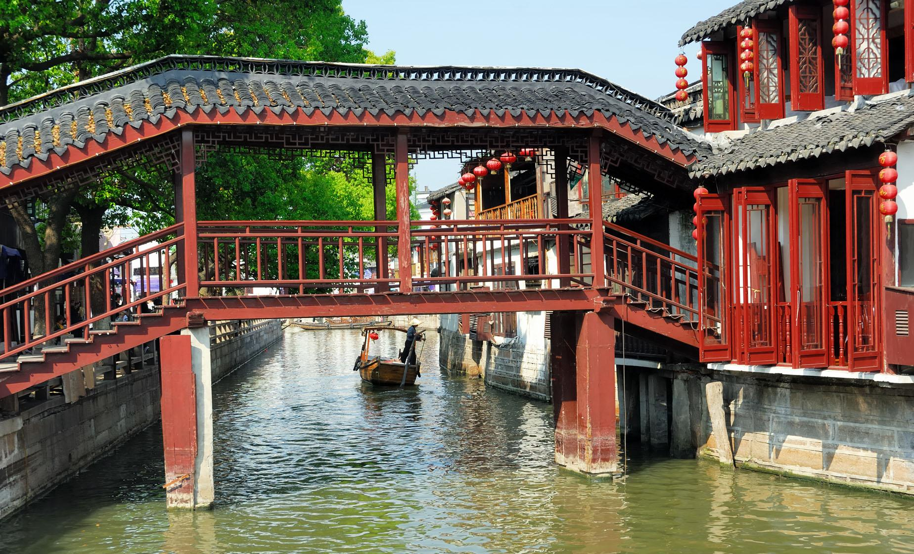 Shanghai City and Zhujiajiao Walking Tour