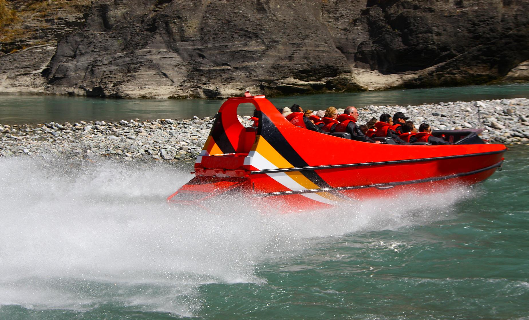 Auckland Jet Boat and Voyager Maritime Museum Tour (Viaduct Harbour)