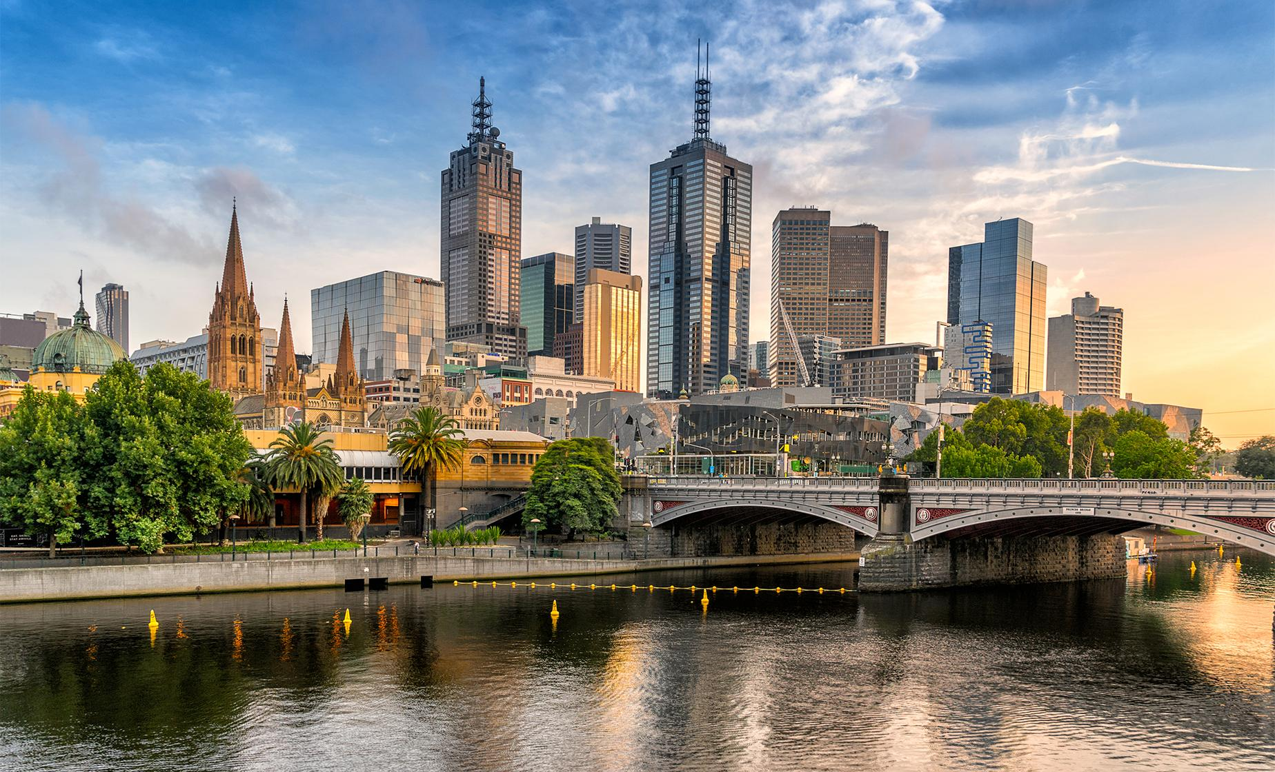 A Walking Tour of Melbourne