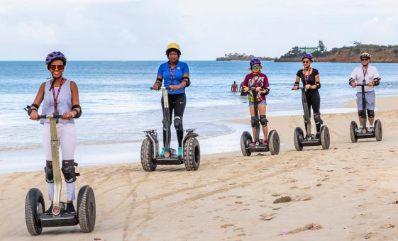 Antiguan Segway and Beach