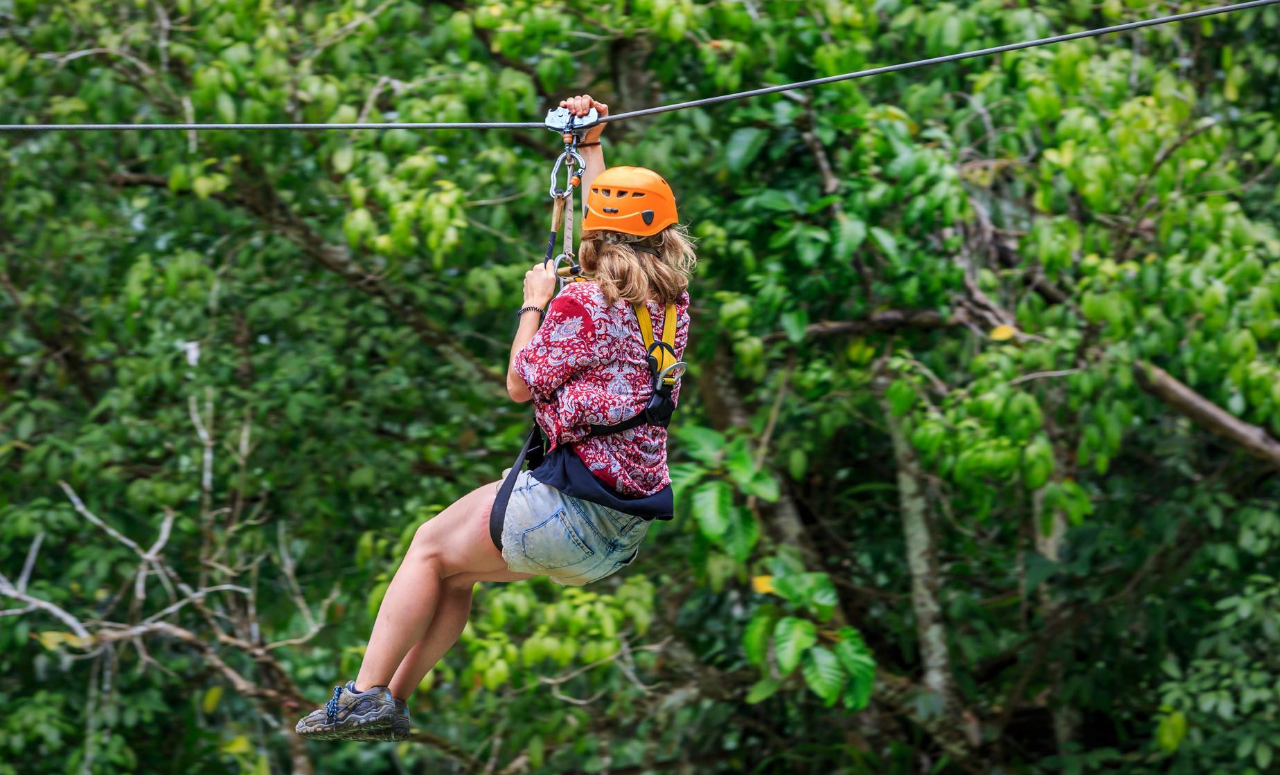 Antigua Canopy Zipline Tour