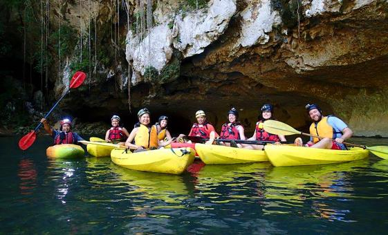 Cave Kayaking from Belize City