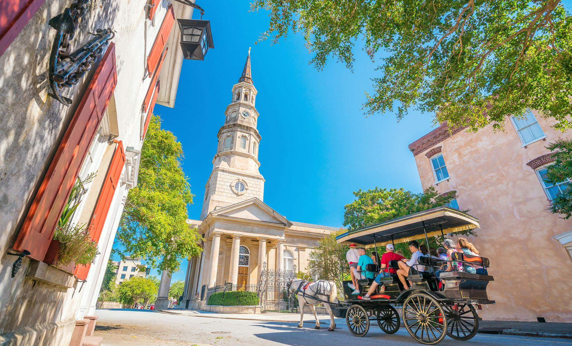 Charleston Historic Carriage Ride