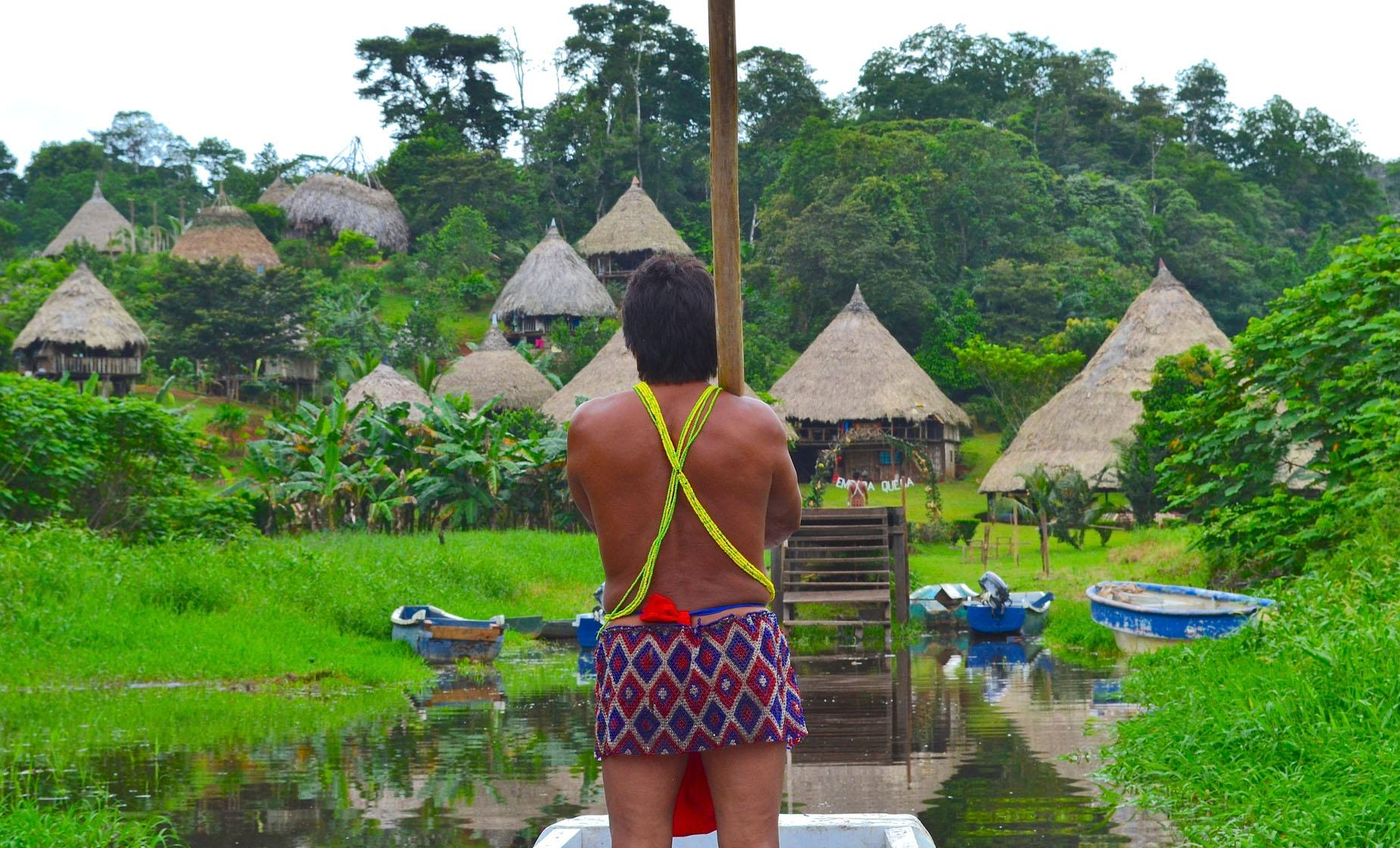 Embera Indians and Miraflores Locks