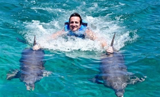 Cozumel Royal Swim with Dolphins at Chankanaab Marine Park