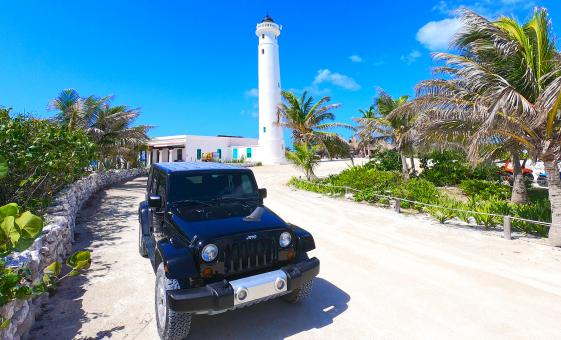 Cozumel Jeep Experience with San Gervasio and Chankanaab Park