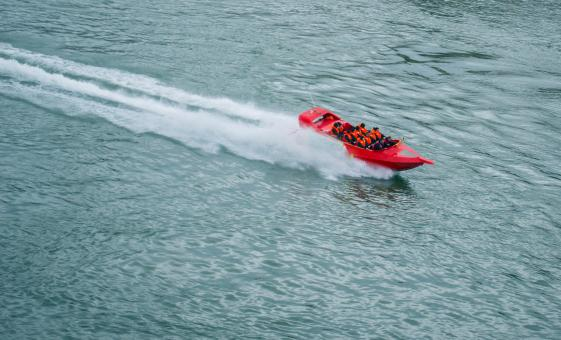 Jet Boat and Isla Pasion Combo