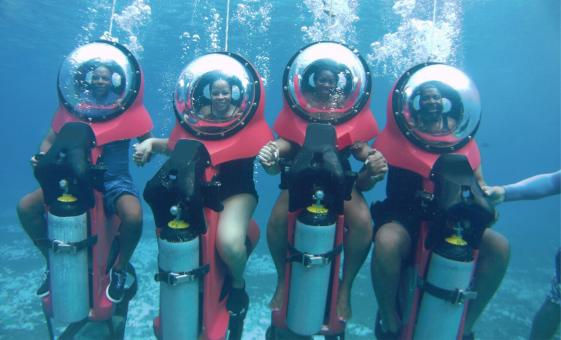 Cozumel Submarine Shore Trip & Tour