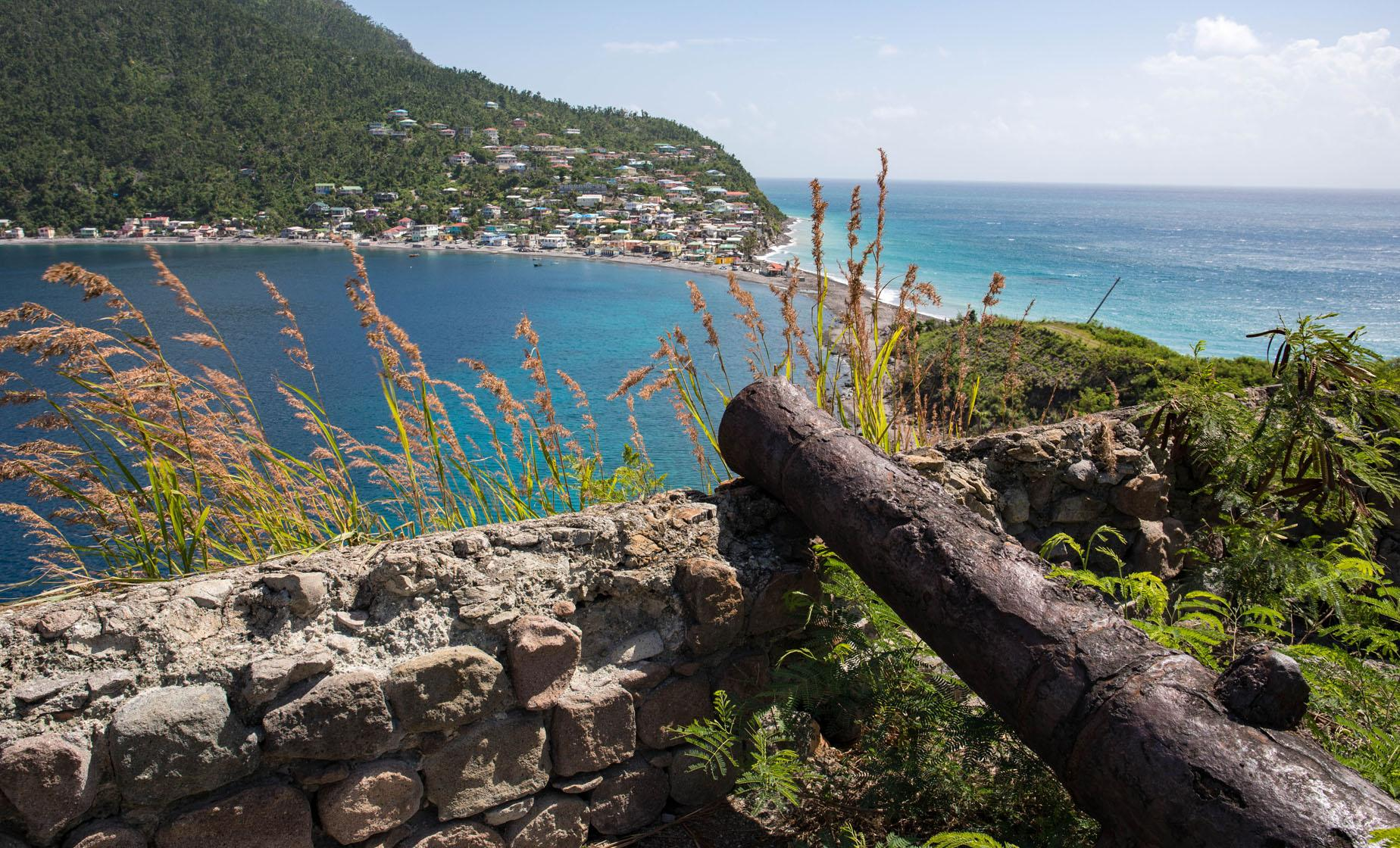 Scenic Dominica Drive