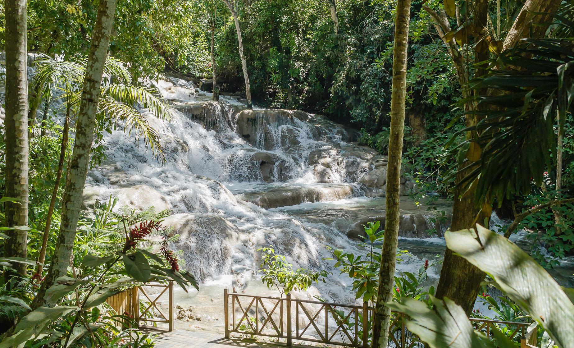 Dunn's River Falls and Shopping in Ocho Rios