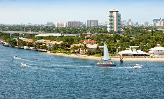 Fort Lauderdale Beach Hotels to Fort Lauderdale Airport Departure Transfer
