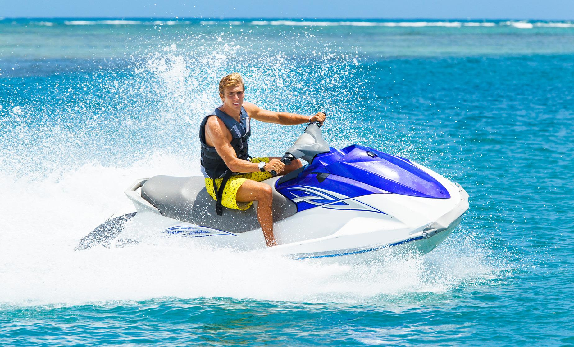 Jetski to Stingray City Sandbar with Snorkeling at Barrier Reef