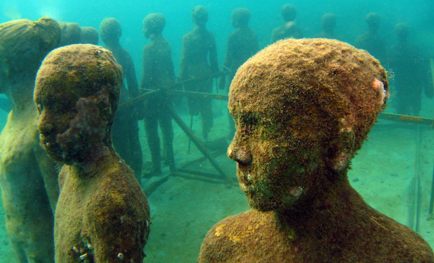 Snorkeling Grenada's Underwater Sculpture Park and Reefs Tour in Grenada